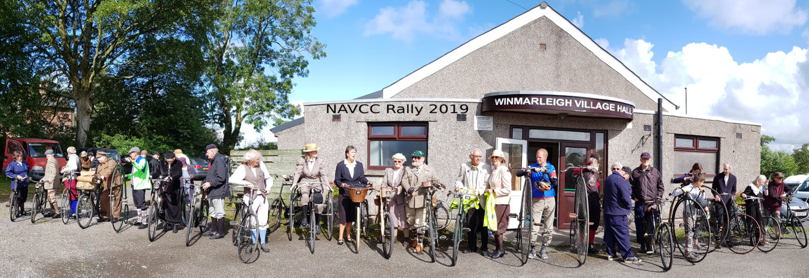 THE NATIONAL ASSOCIATION OF VETERAN CYCLE CLUBS